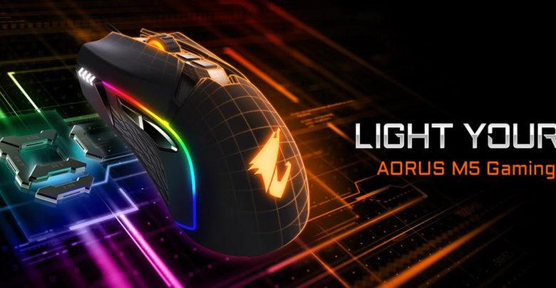 Photo of Gigabyte lanza su nuevo ratón gaming AORUS M5 con sensor PMW3389