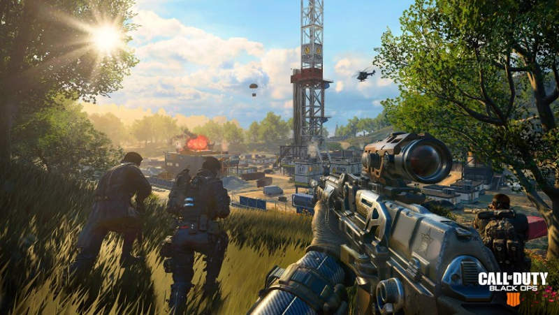 Call of Duty está superando a Battlefield en YouTube y Twitch