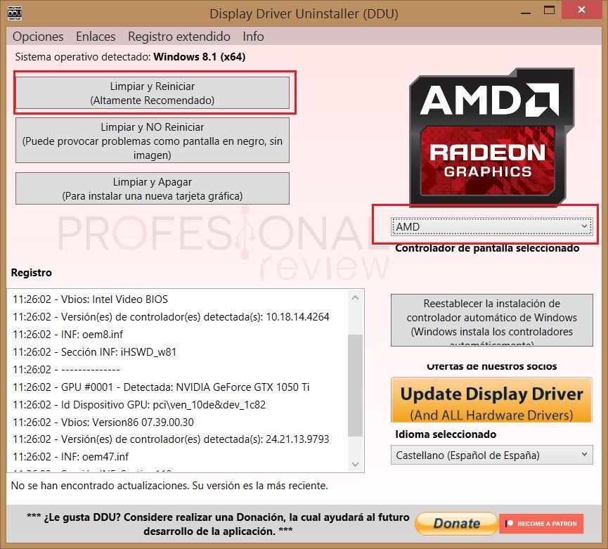 Como instalar drivers anteriores de AMD