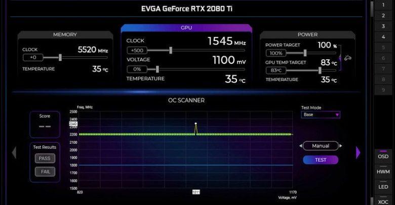 Photo of EVGA anuncia el lanzamiento de la aplicación Precision X1 para RTX 20