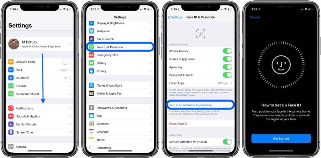 Cómo añadir una segunda persona a Face ID en tu iPhone