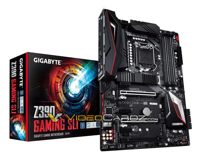 Gigabyte Z390 Gaming SLI se deja ver en foto