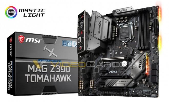 MSI Tomahawk Z90 MAG y MSI MPG Z390 Gaming Plus