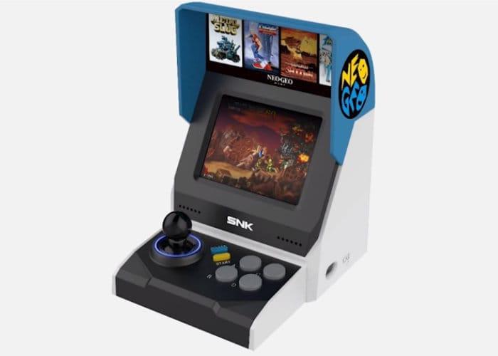Neo Geo Mini llega a Europa dentro de una semana