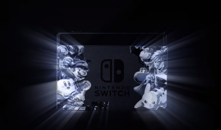 Nintendo Switch tendrá una edición especial de Super Smash Bros Ultimate