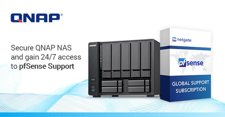 QNAP y Netgate se unen para mejorar la seguridad de los usuarios