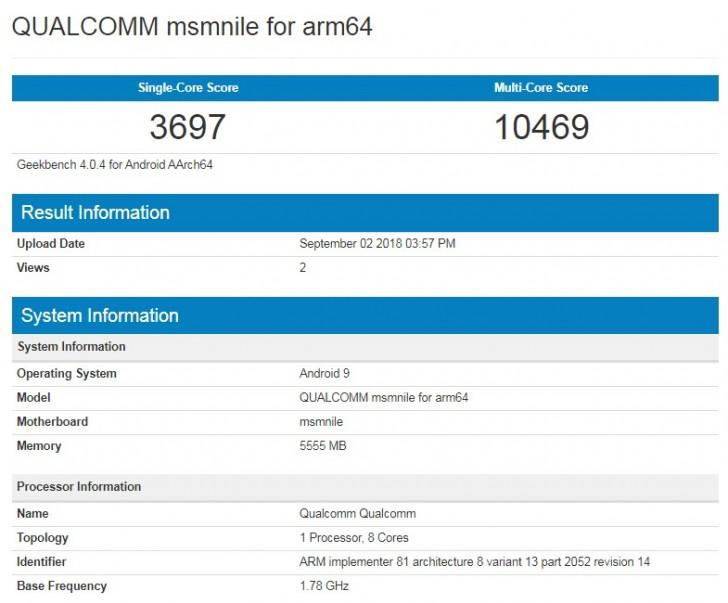 Qualcomm Snapdragon 855 muestra lo que es capaz de hacer en Geekbench