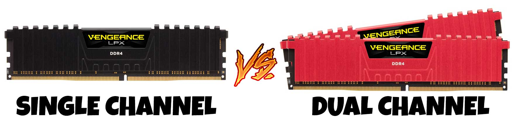 Single channel vs dual channel