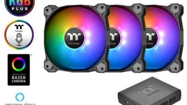 Photo of Thermaltake lanza los ventiladores Pure Plus RGB de 140 mm