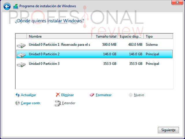Formatear Windows 10 paso a paso