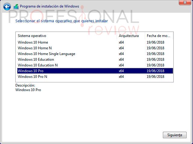 Instalar Windows 10 paso a paso