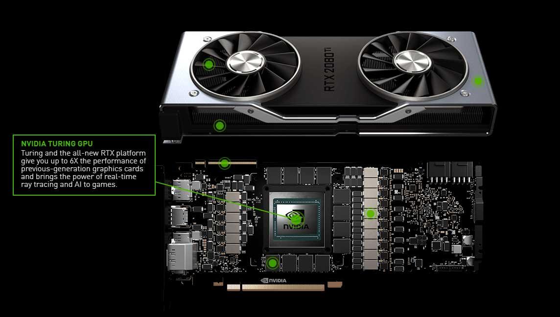 Nvidia RTX 2080 PCB