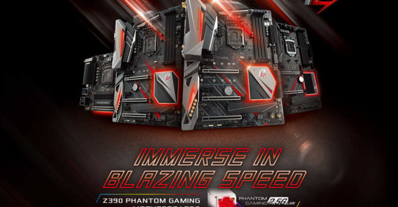 Photo of También se anuncian las placas base ASRock Phantom Gaming Z390