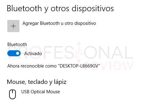 Activar Bluetooth Windows 10 paso04