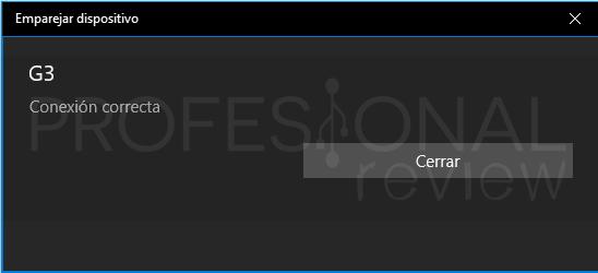 Activar Bluetooth Windows 10 paso10