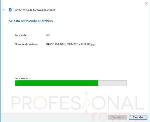 Activar Bluetooth Windows 10 paso13