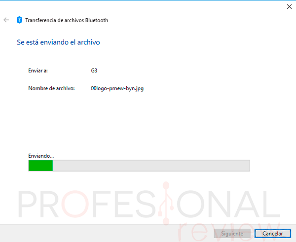 Activar Bluetooth Windows 10 paso15