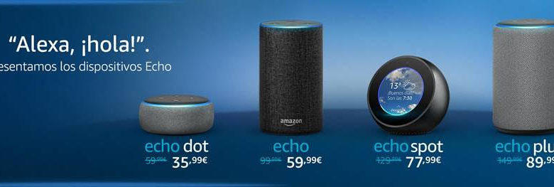 Photo of Amazon Echo y la familia de altavoces con Alexa llegan a España