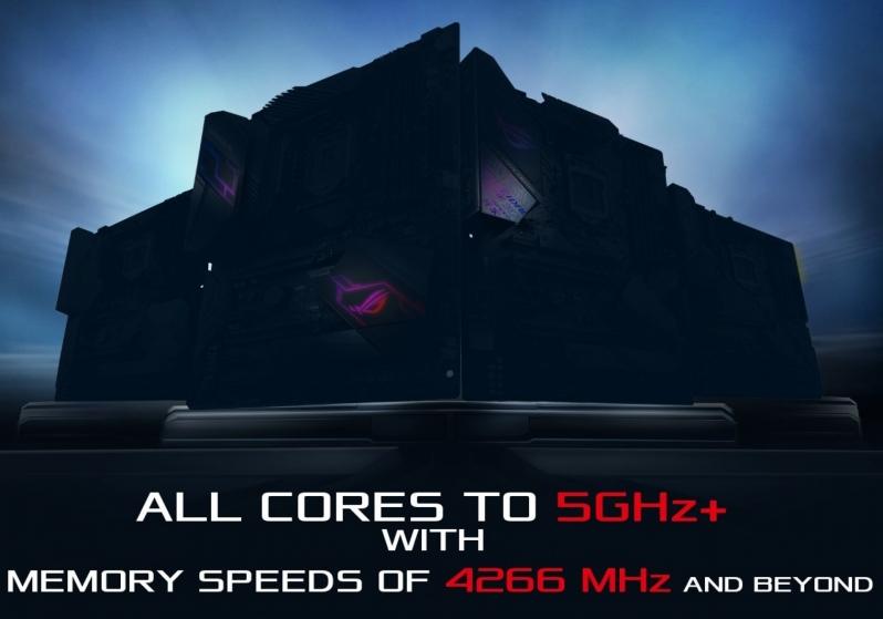 Asus promete más de 5 GHz en sus nuevas placas base Z390