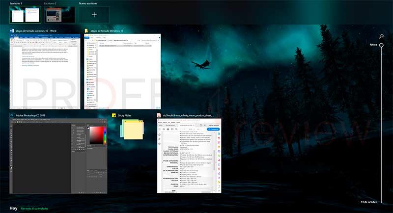 Atajos de teclado Windows 10 paso01