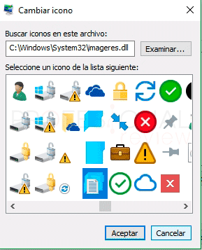 Cambiar iconos en Windows 10 tuto03