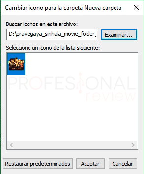 Cambiar iconos en Windows 10 tuto09