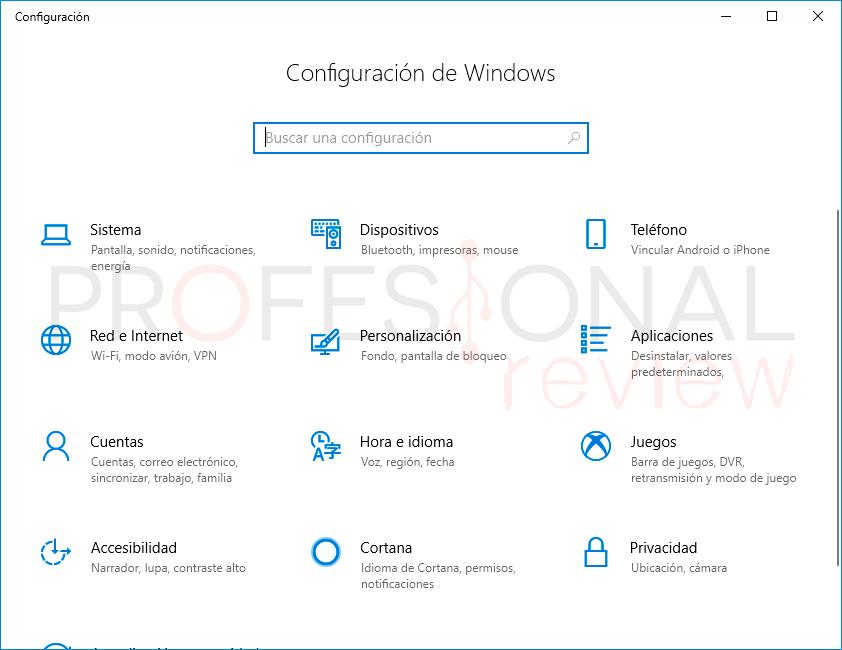 Cambiar Idioma Windows 10 paso01