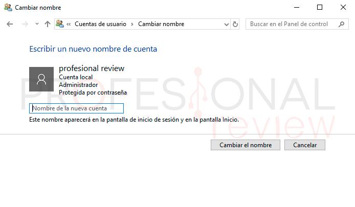 Cambiar nombre de usuario Windows 10 paso03
