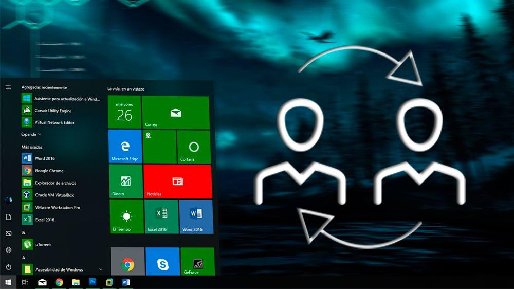 Cambiar nombre de usuario Windows 10