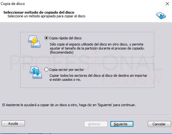 Clonar disco duro Windows 10 paso04