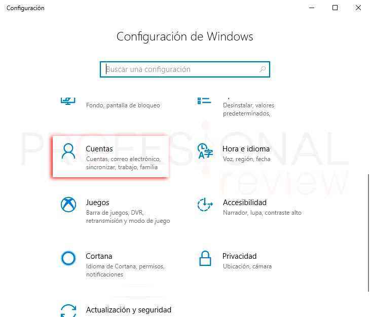 Crear usuario Windows 10 paso01
