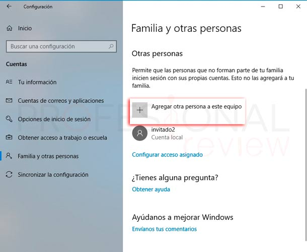 Crear usuario Windows 10 paso02