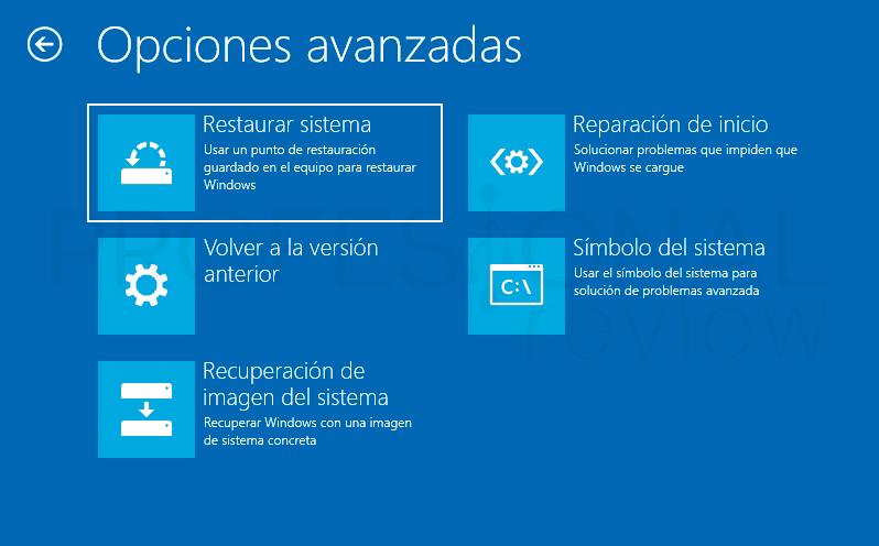 Crear punto de restauración Windows 10 paso10