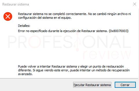 Crear punto de restauración Windows 10 paso12