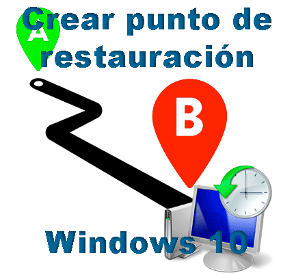 Crear punto de restauración Windows 10