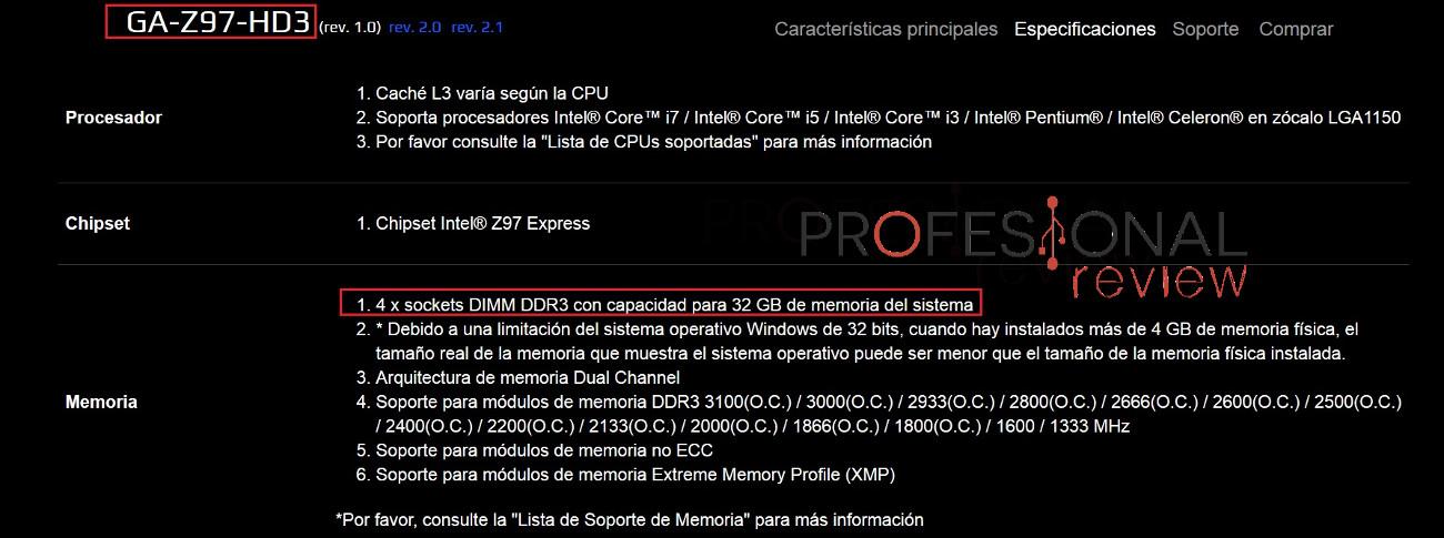 cuanta memoria RAM puedo montar en mi PC