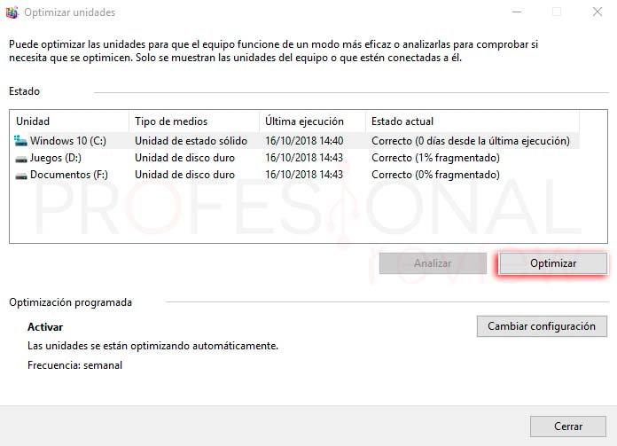 Desfragmentar disco Windows 10 paso03