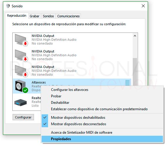 Ecualizador Windows 10 paso06