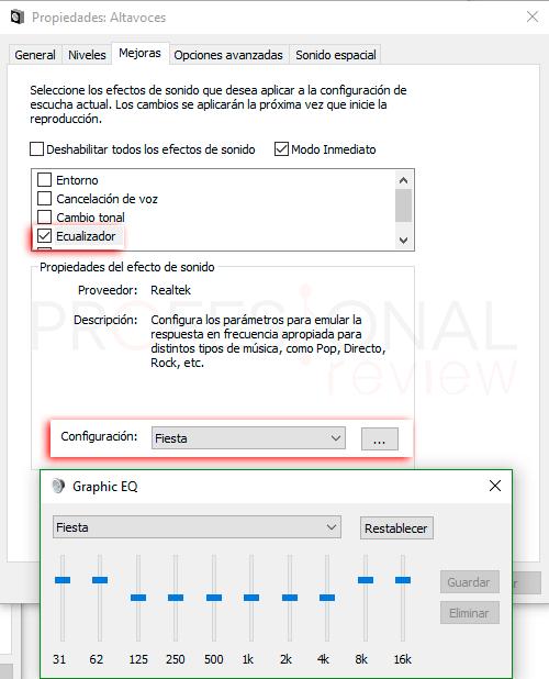 Ecualizador Windows 10 paso09