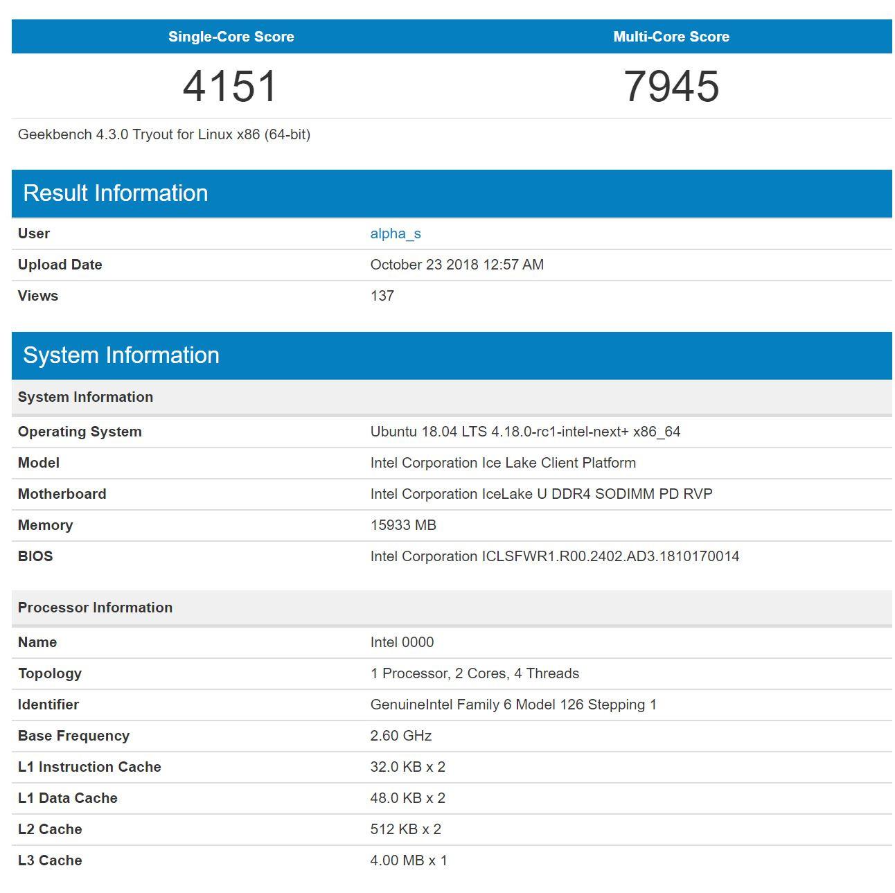 Intel Ice Lake duplica el tamaño de la caché L1 y L2