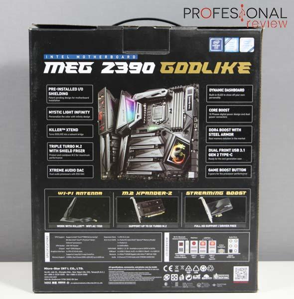 MSI MEG Z390 GODLIKE