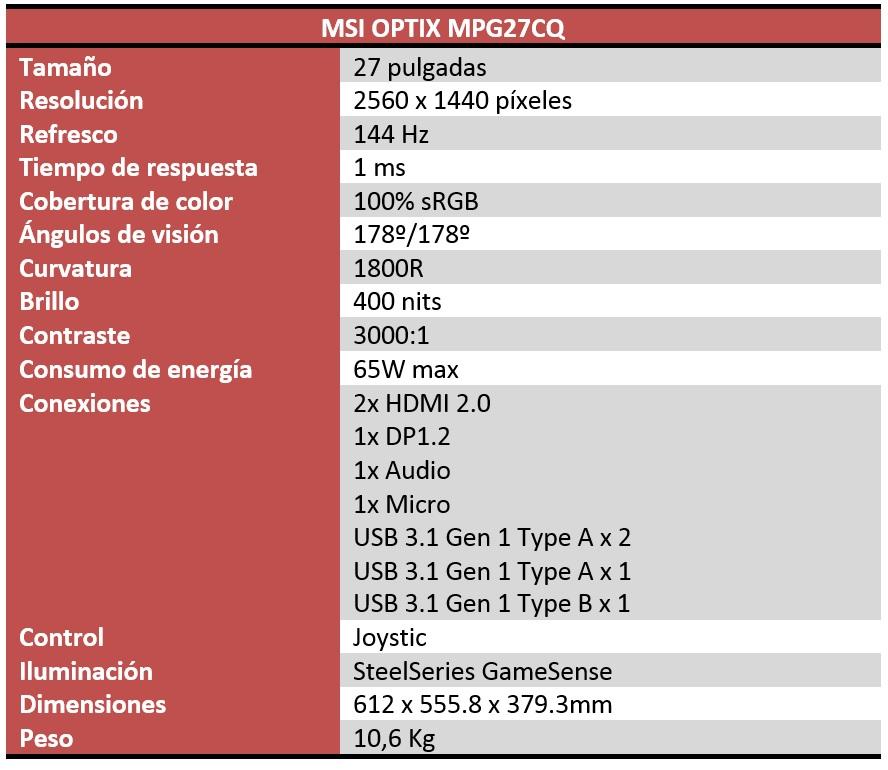MSI Optix MPG27CQ Review