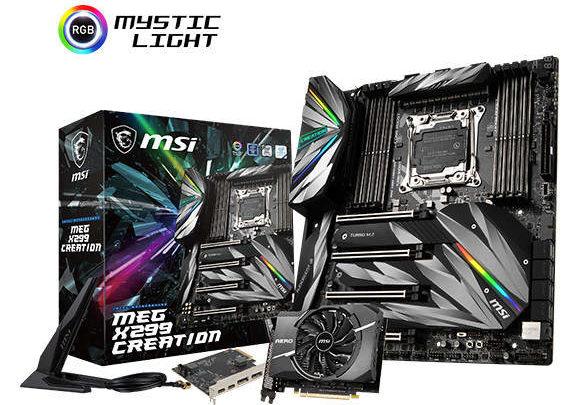 Photo of Anunciada la impresionante placa base MSI X299 MEG Creation