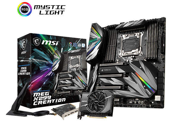 MSI X299 MEG Creation anunciada