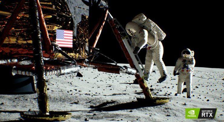 Photo of NVIDIA publica una demostración del Apolo 11 hecho con Ray Tracing