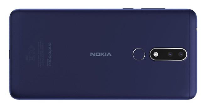Nokia 3.1 Plus diseño