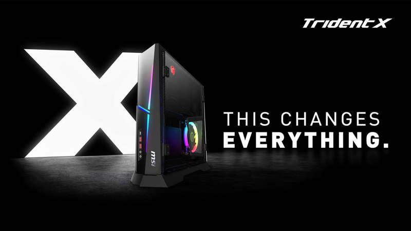 Nuevo MSI Trident X con Core i9 9900K y GeForce RTX 2080Ti