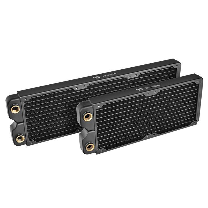 Nuevos radiadores Thermaltake Pacific fabricados en cobre y con RGB