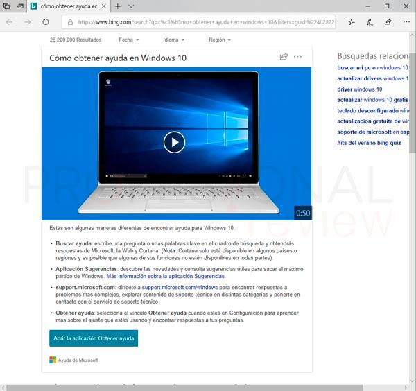 Obtener ayuda Windows 10 paso03
