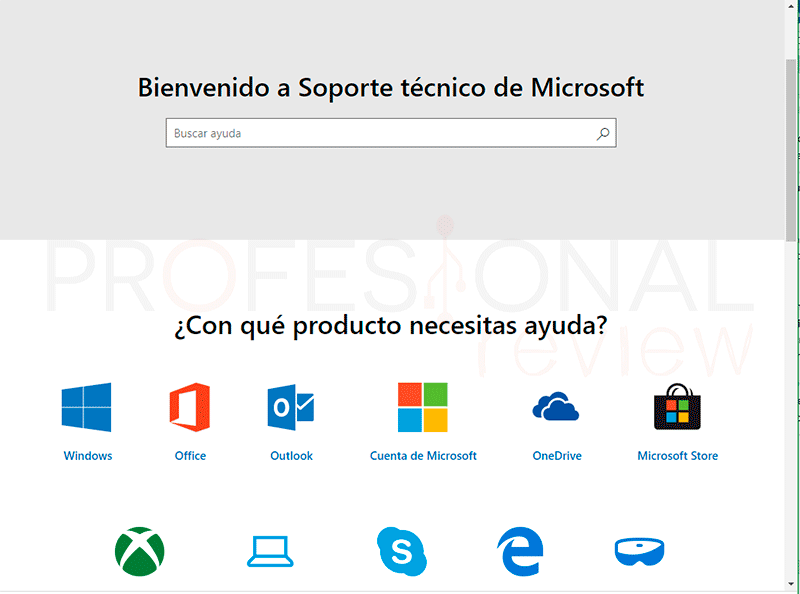 Obtener ayuda Windows 10